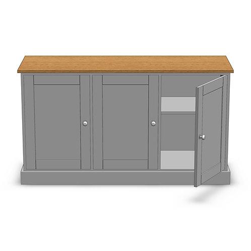 Dovedale Oak 3 Door Sideboard
