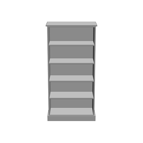 Large Bookcase Painted
