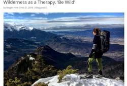 Megan Hine writes about Wilderness