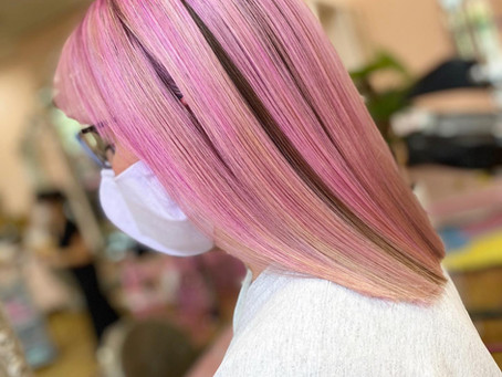 Pink to Make the Boys Wink at Sophie Amelia Hair