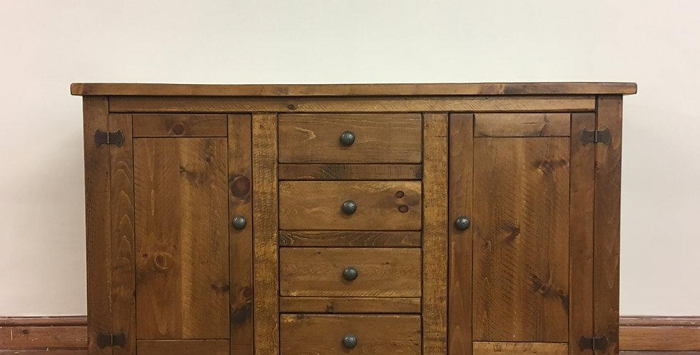 Plank 2 Door 4 Drawer Sideboard