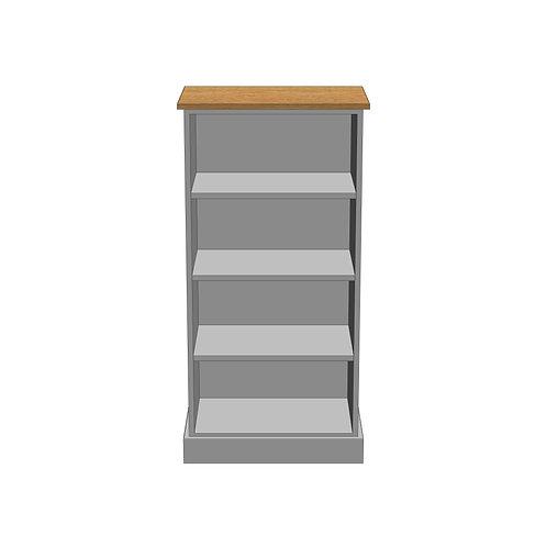 Medium Bookcase Oak