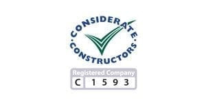 Considerate Constrctors preferred scaffolders partner commercial scaffolding accreditation uk