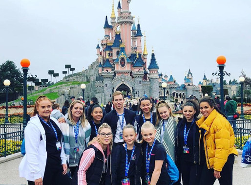 Team #FTB head to Disneyland Paris to compete for AJ's School of Dance