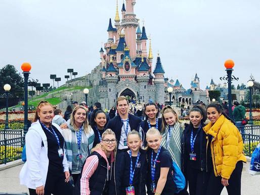 Team #FTB head to Disneyland Paris to compete for AJ's School of Dance