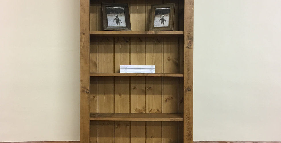 Plank 6ft 6inch x 3ft Bookcase