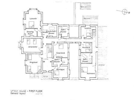 Upwey House First Floor Plan