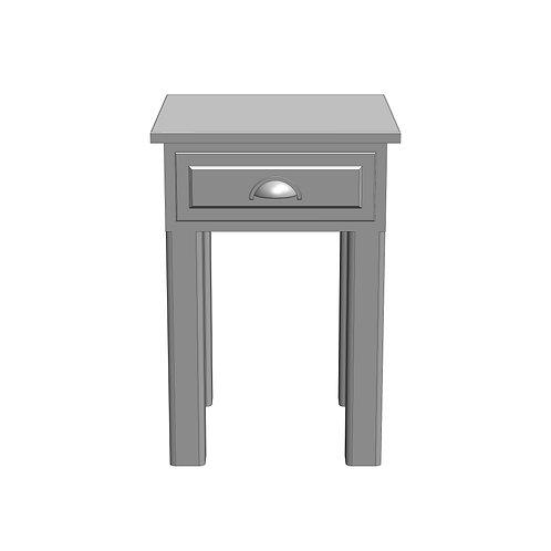 Fernwood Painted Storage Lamp Table