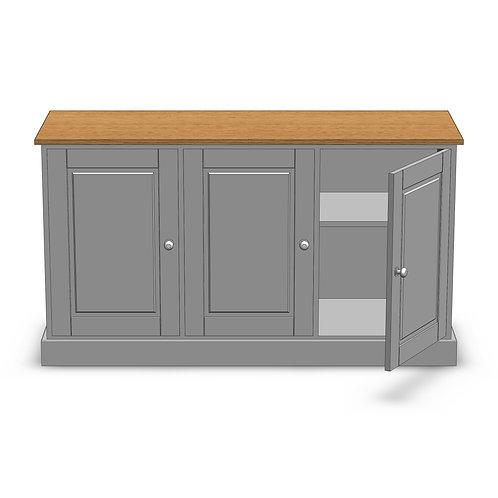 Fernwood Oak 3 Door Sideboard