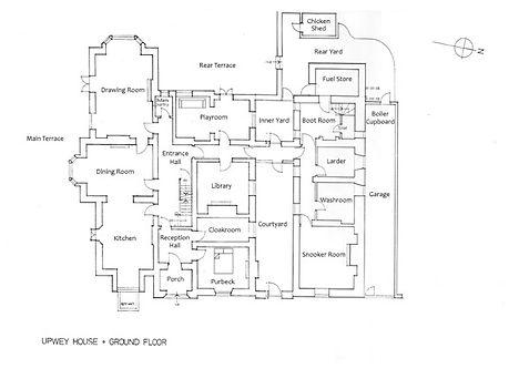 Upwey House Ground Floor Plan