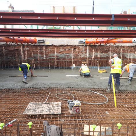 Basements & Reinforced Concrete Works