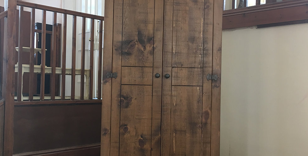 Plank Full Hanging Double Wardrobe (3ft)