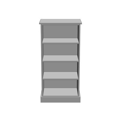 Medium Bookcase Painted