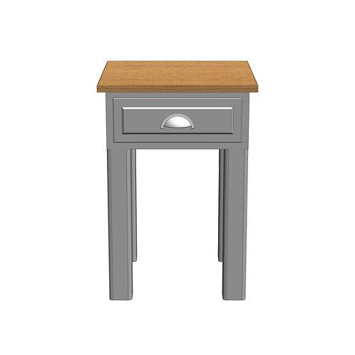 Fernwood Oak Storage Lamp Table