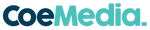 Coe Media Logo Teal Footer .png