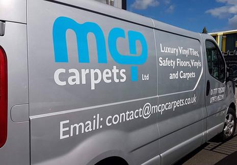 MCP Carpets Ltd - fresh carpets, fresh new branding...