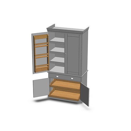 Dovedale Painted Classic Larder