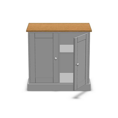 Dovedale Oak 2 Door Sideboard