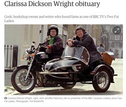 Clarissa Dickson Wright obituary