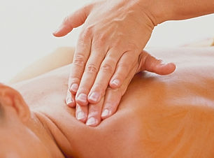 Blonde Model - Back Massage, Deep Tissue