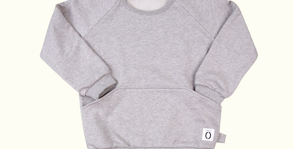 The Sweater Grey Marl
