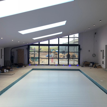 A new Swimming Pool extension with home automation thanks to VIS Electrical