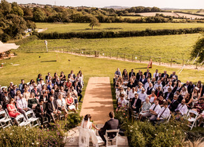Hannah and Darren's Tipi Wedding
