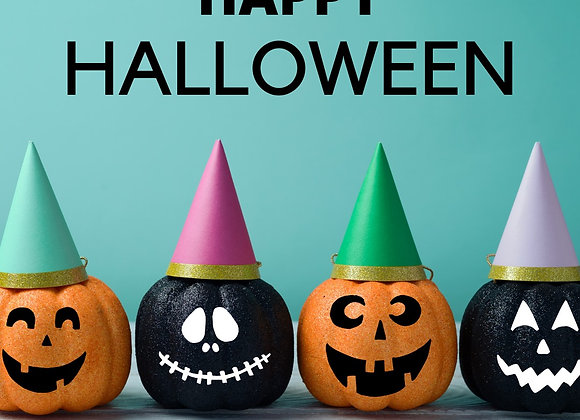 HALLOWEEN PARTY - 10AM-12Noon