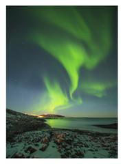 Nordlicht Norwegen hoch