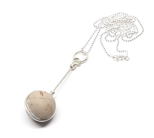 Clay Marble Necklace