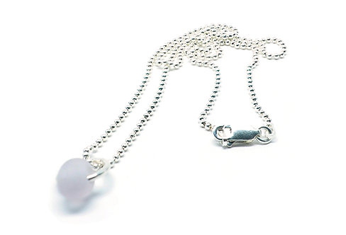 Small Lilac Chip Necklace