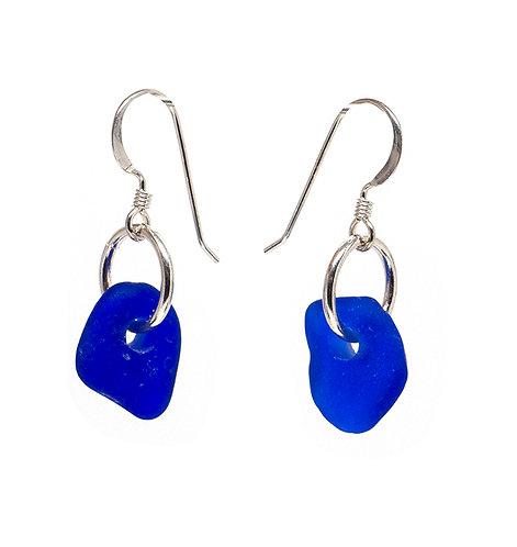 Cobalt Earrings