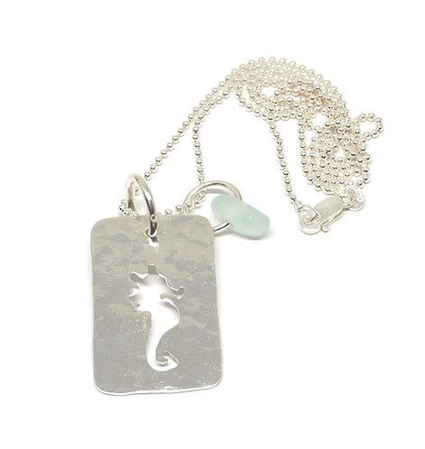 Seahorse Cutout Necklace
