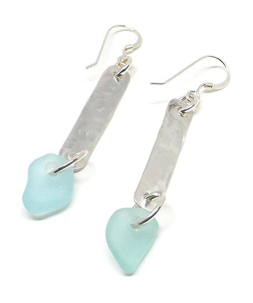 Sea Foam Sick Earrings