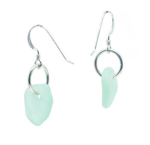 Light Sea foam Single Piece Earrings