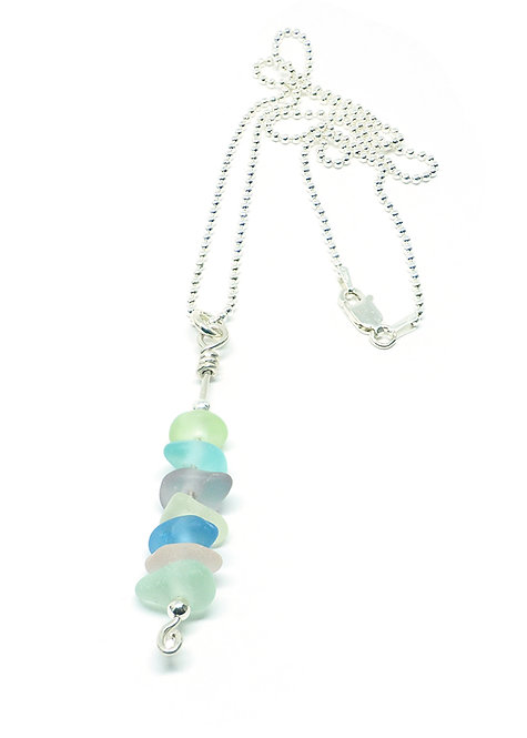 Pastel Multi-Colored Stacked Necklace