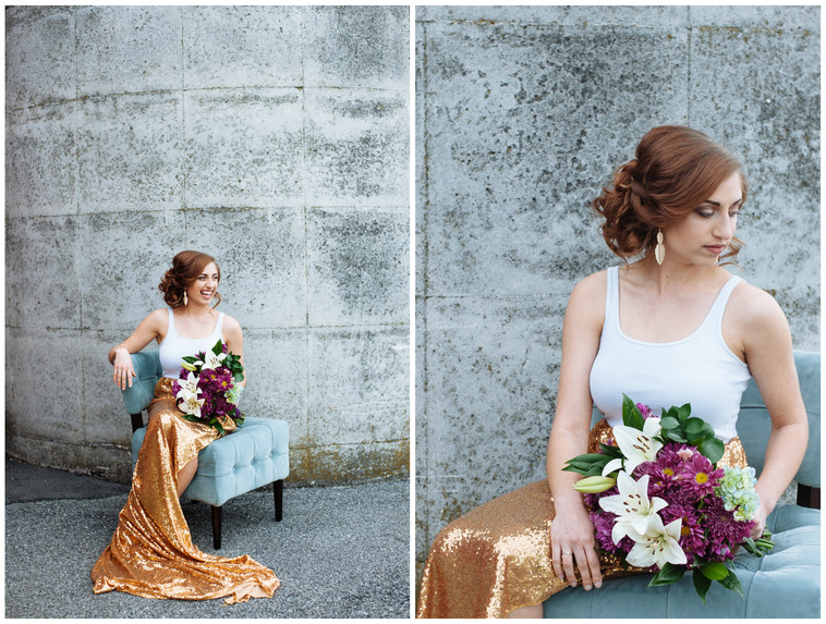 The One with Kari in a Styled Shoot