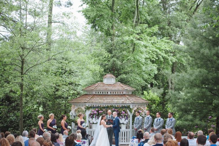 The One with Kristin and Mike's Meredith Manor Wedding