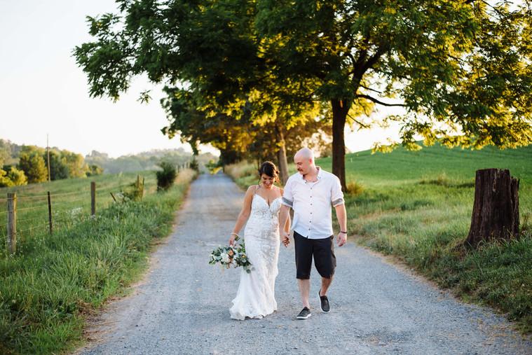 Josh and Jenna's Backyard Wedding