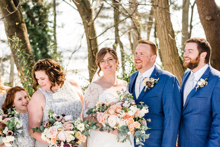 The One with Joey and Heidi's Floral Perfection Wedding