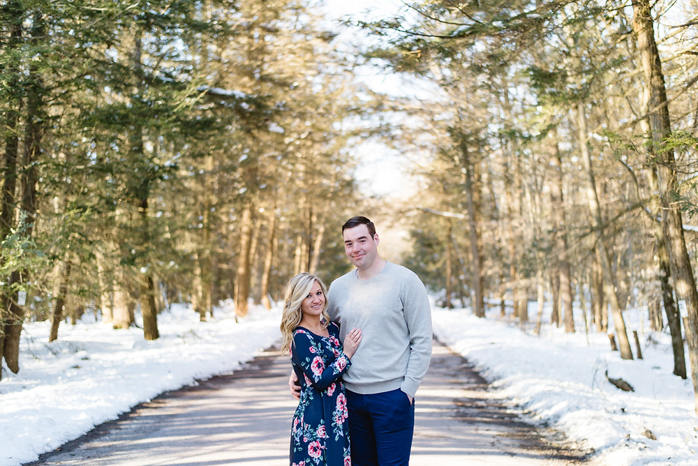 Hickory Run State Park Engagement Photos