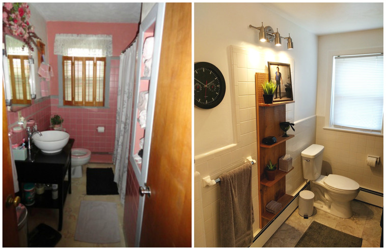 The One with our Home Before/After