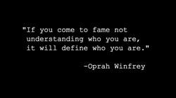 DEFINE WHO YOU ARE