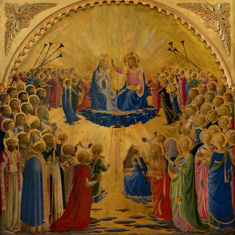 """Fra Angelico """"Heaven on Earth"""" Reunites Famous Four-Piece Set"""
