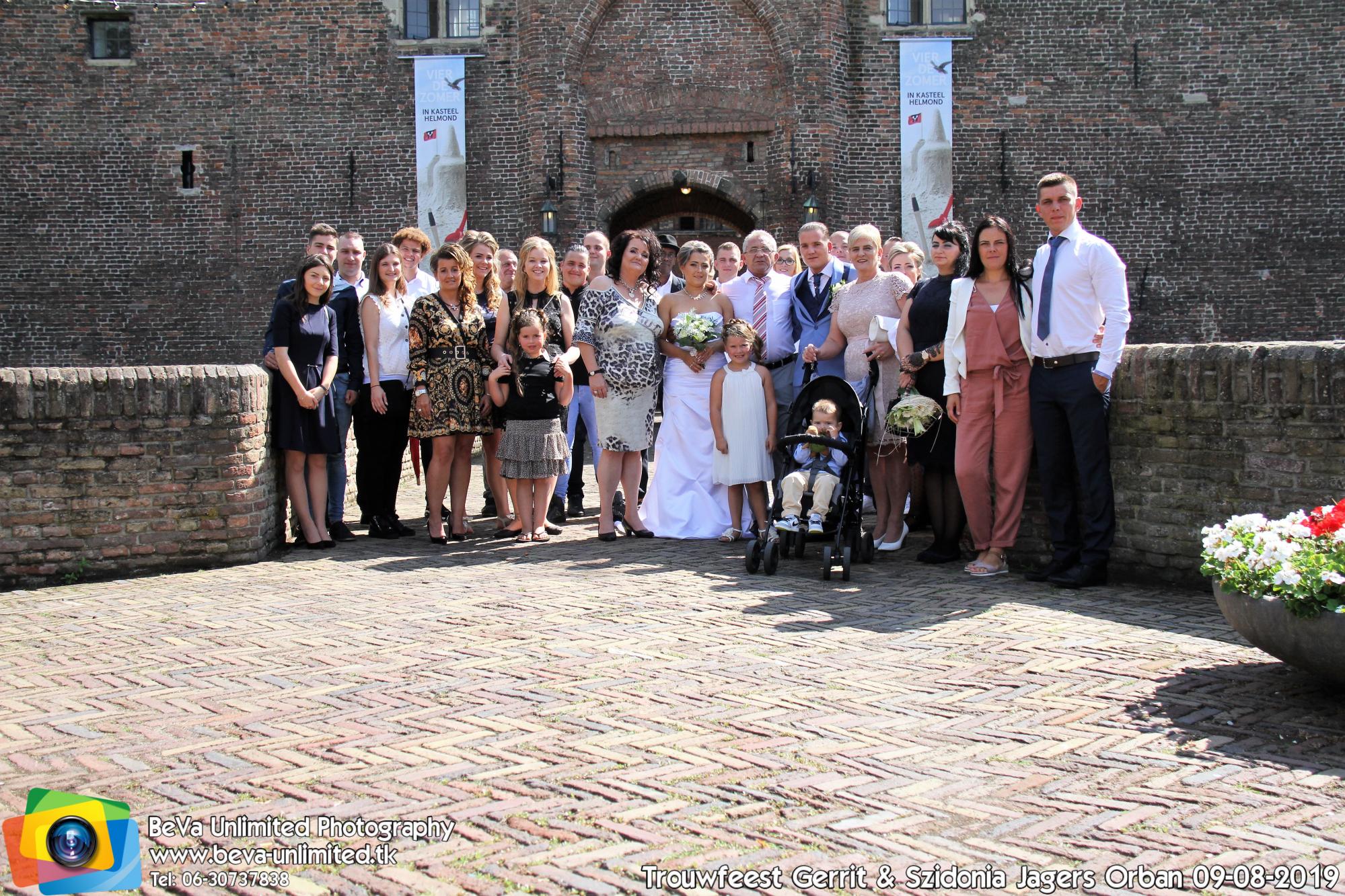 Trouwfeest Gerrit & Szidonia 09-08-2019-