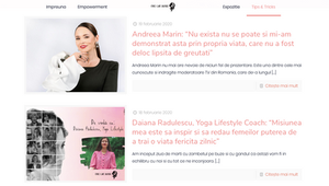 This women is about inspiring women with Daiana Radulescu and Andreea Marin at Itsy Bitsy Radio