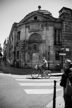 L'homme au vélo