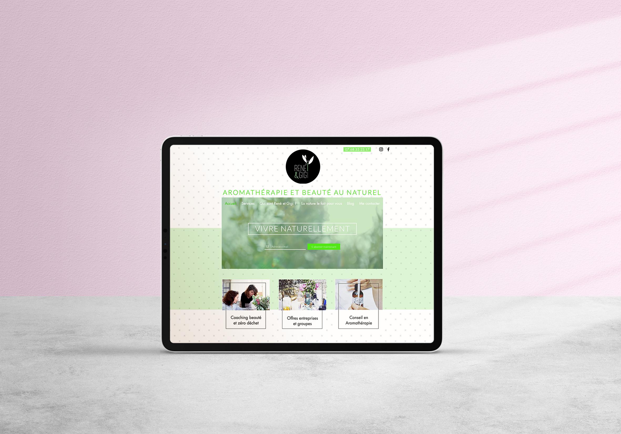 Site web René et Gigi