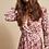 Thumbnail: Robe longue cache-coeur NUDE