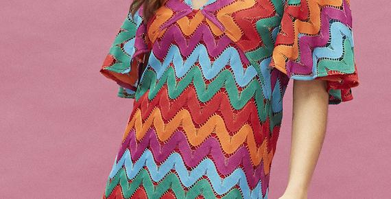 Robe courte crochet